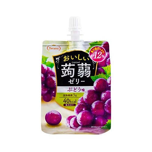 Tarami Konjac Jelly (Grape Flavor)  150g