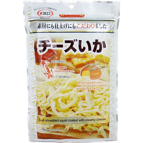MARUESU Kodawari Soft Shredded Squid (Original Blend Cheese Flavor) 50g