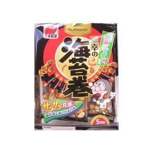 Sanko Norimaki Assorted Seaweed Rice Cracker 85g