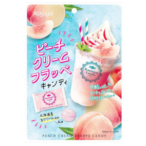 Kasugai Peach Cream Frappe Candy 80g
