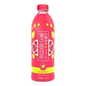 Genki Forest Pomegranate Green Tea 500ml