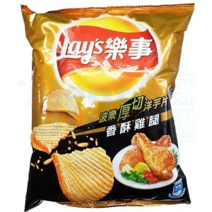 Lay's  Potato Chips (Crispy Chicken Drumstick Flavor) 43g