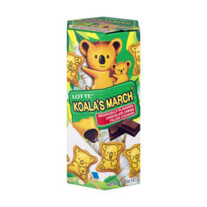 Lotte Koala Chocolate Biscuits 41g