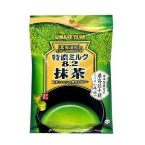 UHA High Concentrate 8.2 Green Tea Candy (Bag) 80g
