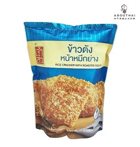 Chao Sua Rice Cracker ( Rosted Squid Flavor) 100g