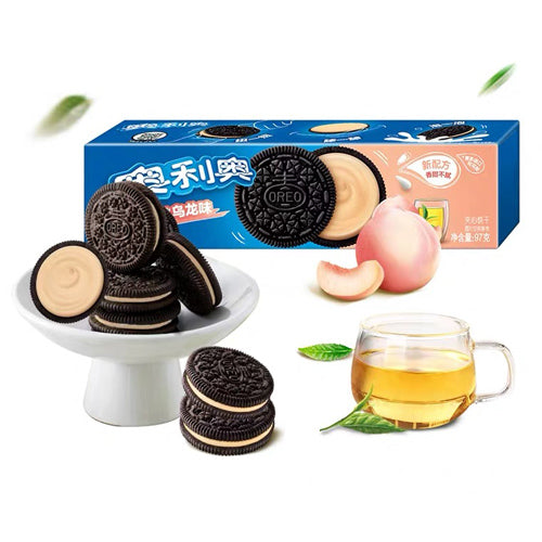 OREO Crispy Cream Cookies (Peach Oolong Flavor) 97g