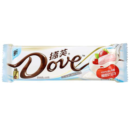 DOVE  White Chocolate (Yogurt Flavor) 42g