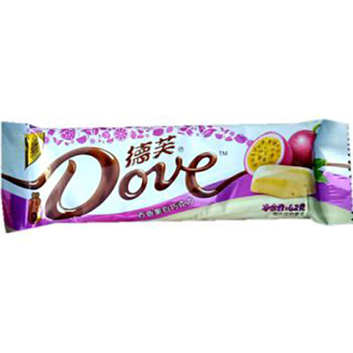 DOVE  White Chocolate (Passion fruit Flavor) 42g