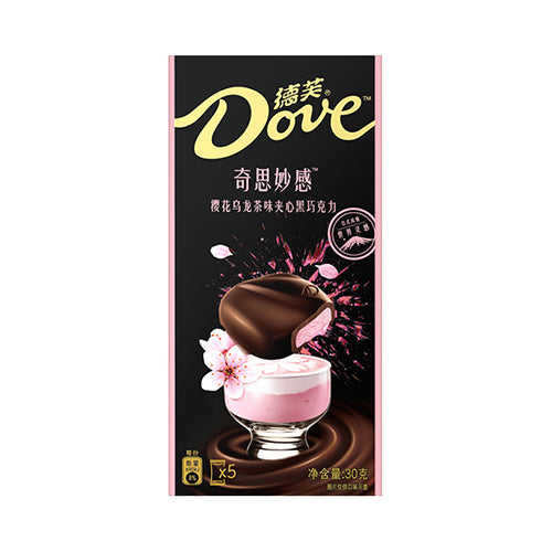 DOVE  Black Chocolate (Cherry&Oolong Tea Flavor) 30g
