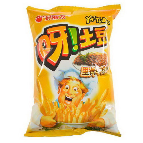 HAOLIYOU Potato Chips (Steak Flavor) 70g