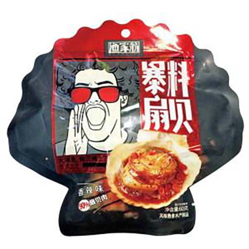 Uncle Yu Instant Scallop (Spicy Flavor) 60g