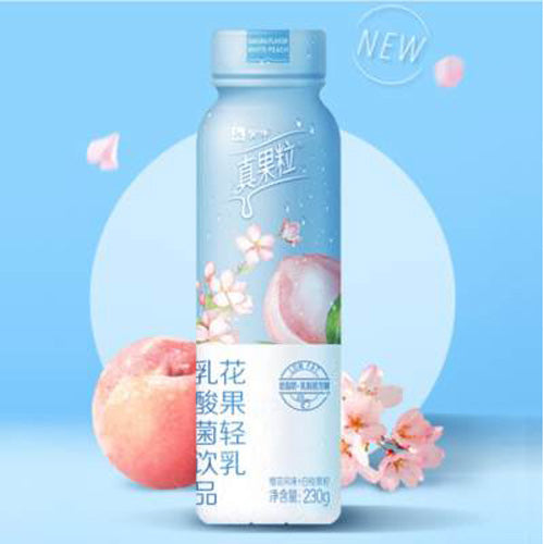 Mengniu Fruit Milk Drink (Sakura & Peach Flavor) 230ml*10