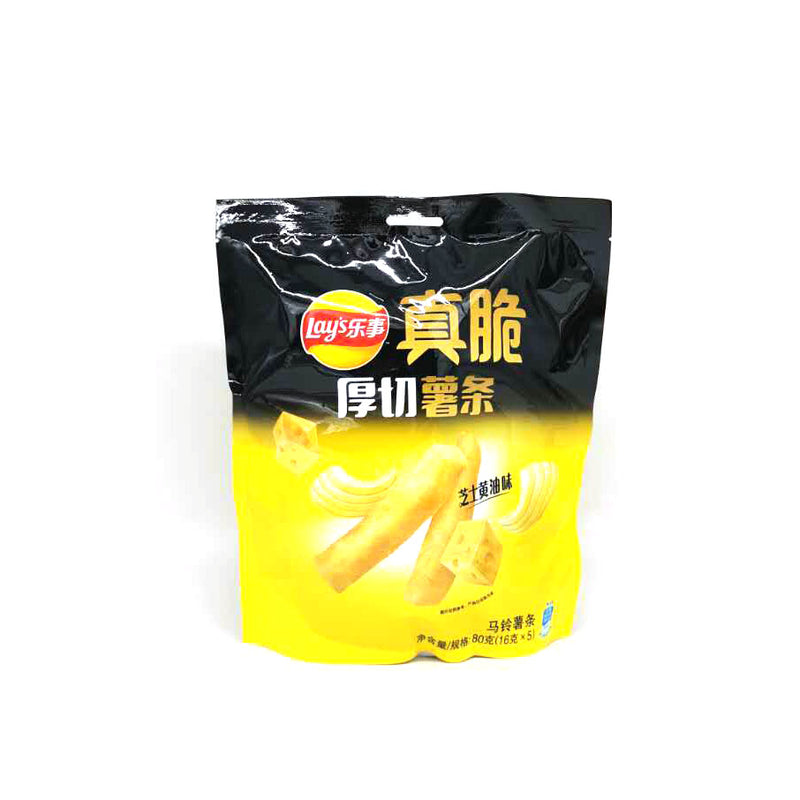 Lay's Crispy Fries Potato Chips (Cheese Butter Flavor) 80g