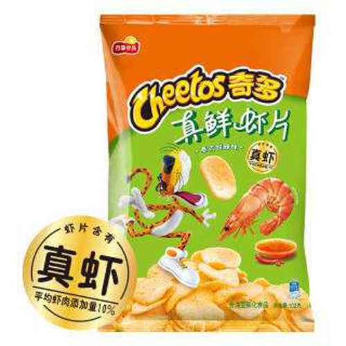 CHEETOS Shrimp Chips (Sweet & Hot Flavor) 55g