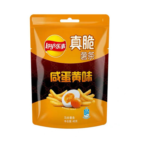 Lay's Crispy Fries Potato Fries (Salted Egg Flavor) 80g