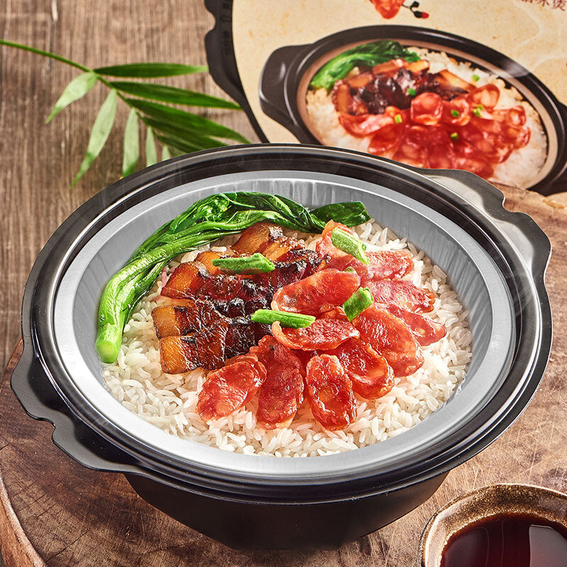 KAIXIAOZAO Self Cooking Hot Pot (Cantonese Claypot Rice with Sausage) 180g