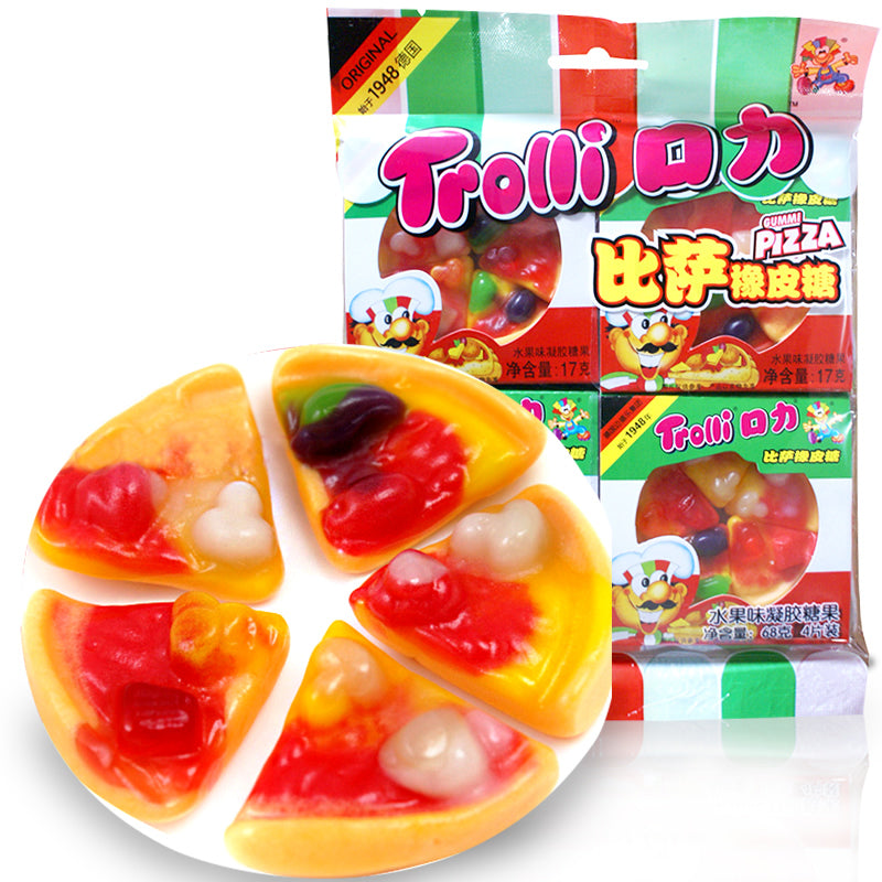 TROLLI Gummi Pizza Candy 68g