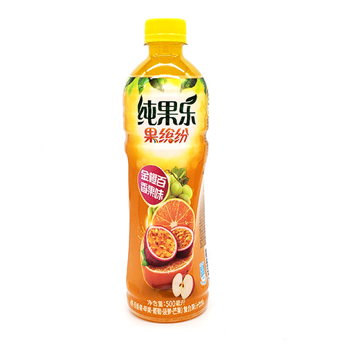 Pepsi Tropicana (Kumquat & Passion Fruit Flavor) 500ml