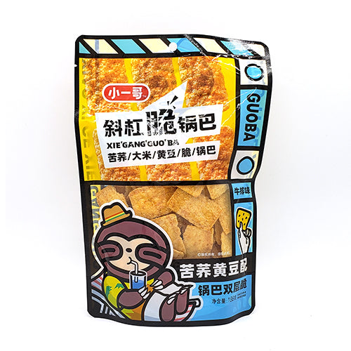 GUOBA  Xiao Yi Ge Rice Crust (Steak Flavor) 188g