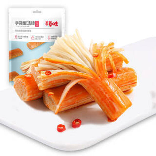 BAICAOWEI  Crab Flavor Sticks 120g