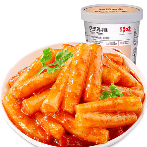 BAICAOWEI  Spicy Rice Cake (Korean Style Flavor ) 160g