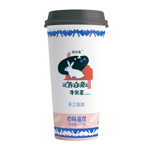 White Rabbit Milk Tea (Peach Oolong Flavor) 132g