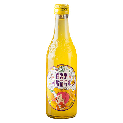 Er Chang Lactic Acid Bacteria Soda Drinks (Passion Fruit Flavor) 275ml