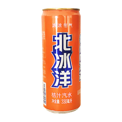 Arctic Ocean Mandarin Soda Drink 330ml
