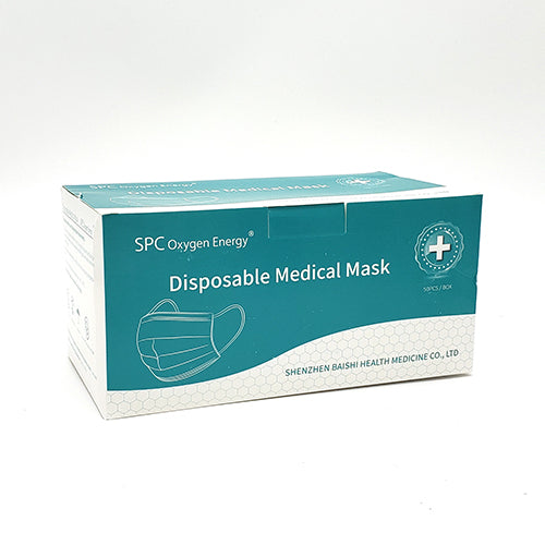 SPC Disposable Medical Mask (epidemic emergency product) 50 pcs / Box