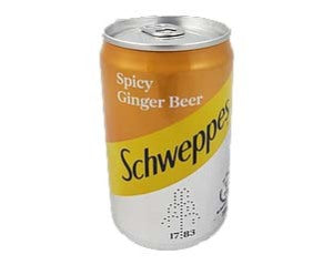Schweppes Spicy Ginger Beer 200ml