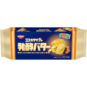 NISSIN Cisco Cultured Butter Sable Biscuits 119g