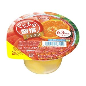 BOURBON Kudamono Jelly (Mix Flavor) 160g