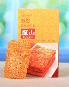 Chao Sua Rice Cracker ( Flossy Shrimp Flavor) 90g