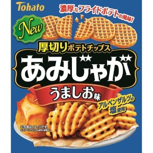 TOHATO Ami Jaga Potato Chips (Salt Flavor) 60g