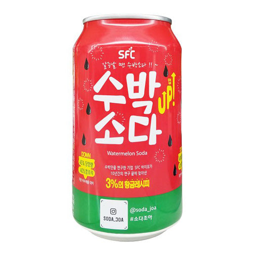 SFC Soda Drink (Watermelon Flavor) 350ml