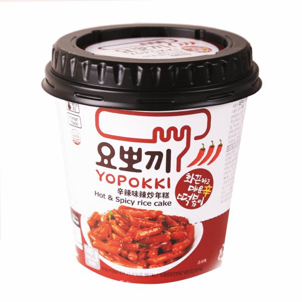 YOPOKKI Rice Cake (Sweet & Spicy Flavor) 140g