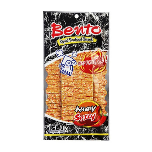 Bento Squid Seafood Snack (Angry & Spicy) 24g