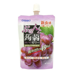 ORIHIRO Konjac Jelly Drink Grape Flavor 130g