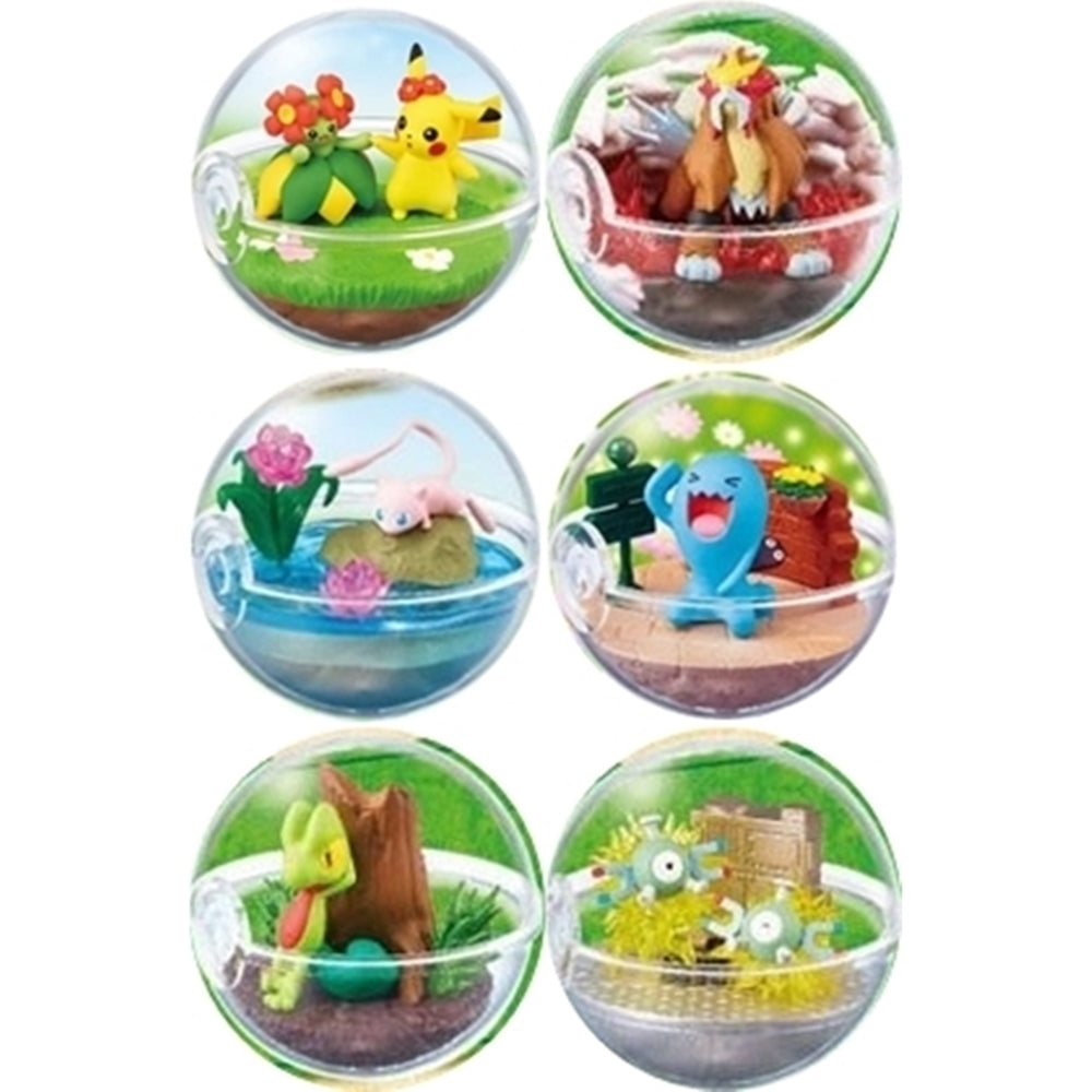 Re-ment Pokemon Candy Toy Terrarium 6 Collection (6 kinds in a set)