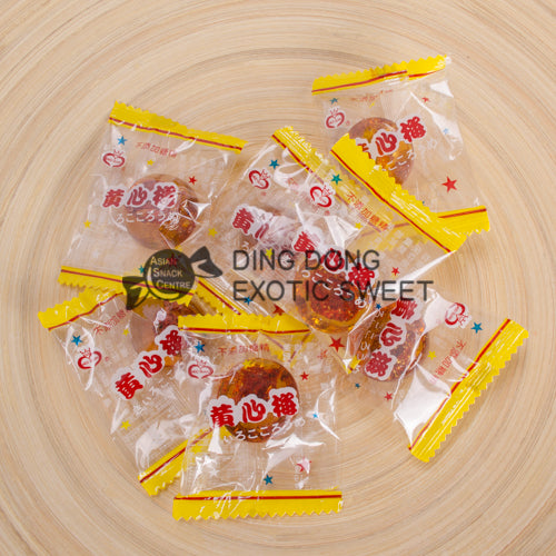 MEEI GUAN Yellow Heart Plum Candy100g