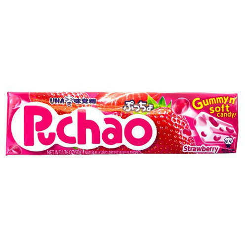 UHA Puccho Gummy Soft Candy (Strawberry Flavor) 50g