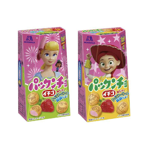 Morinaga Toy Story Strawberry Sandwich Cookies 47g