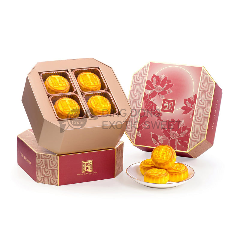 2020 The Peninsula Mini Egg Custard Mooncakes (8 pcs) 280g