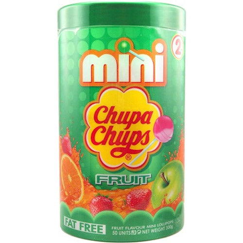 Mini Chupa Chups Fruit 50pcs