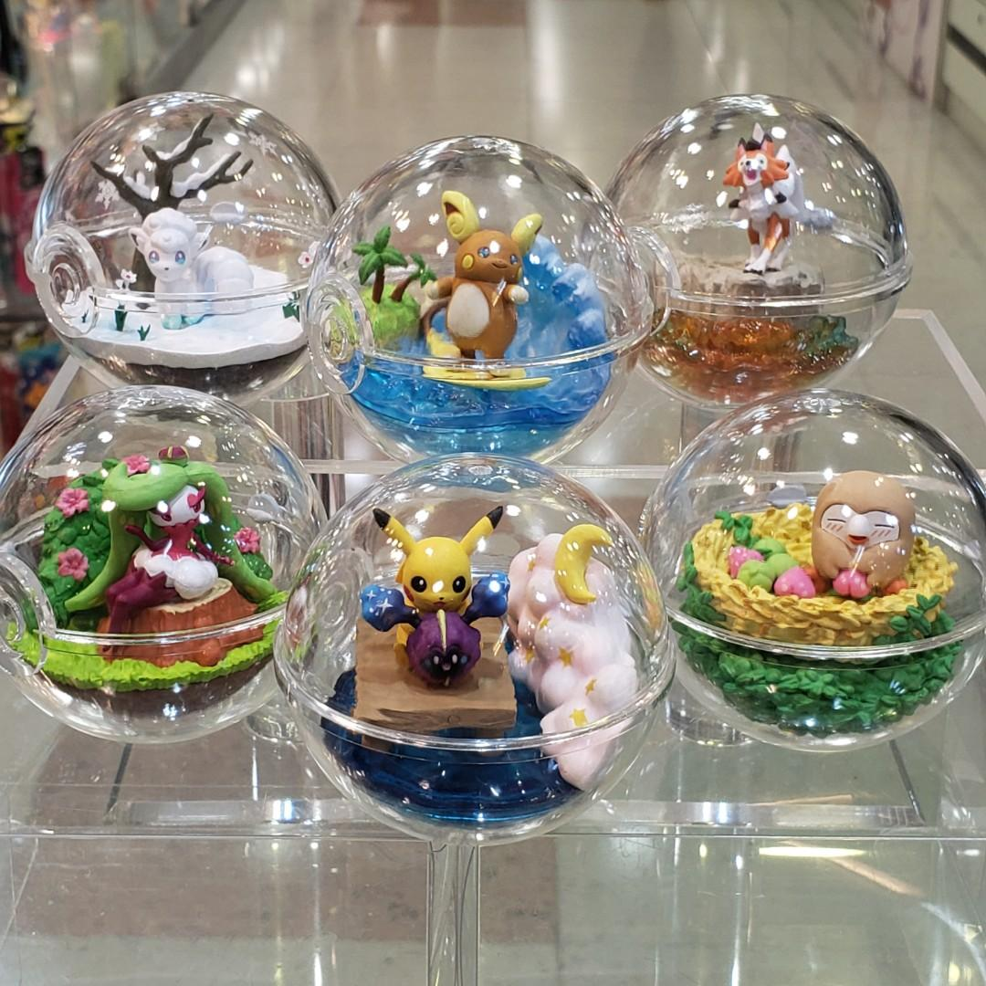 Re-Ment POKEMON Terrarium 5 Collection (6 kinds in a set)
