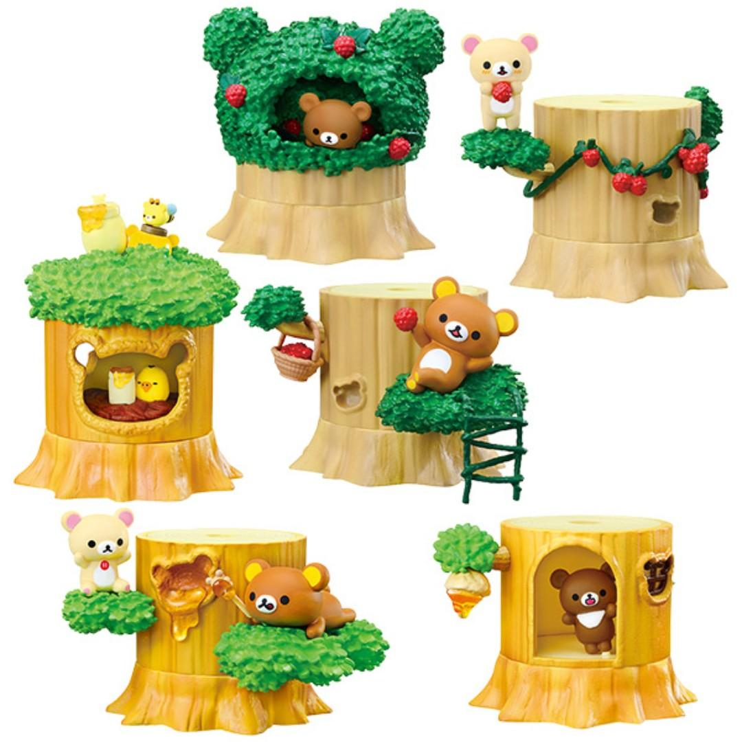 Re-ment Rilakkuma`s Forest Collection (6 kinds in a set)