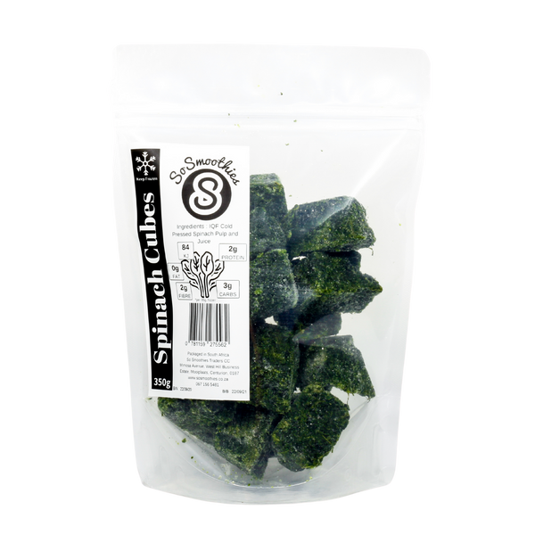 IQF Spinach Cubes