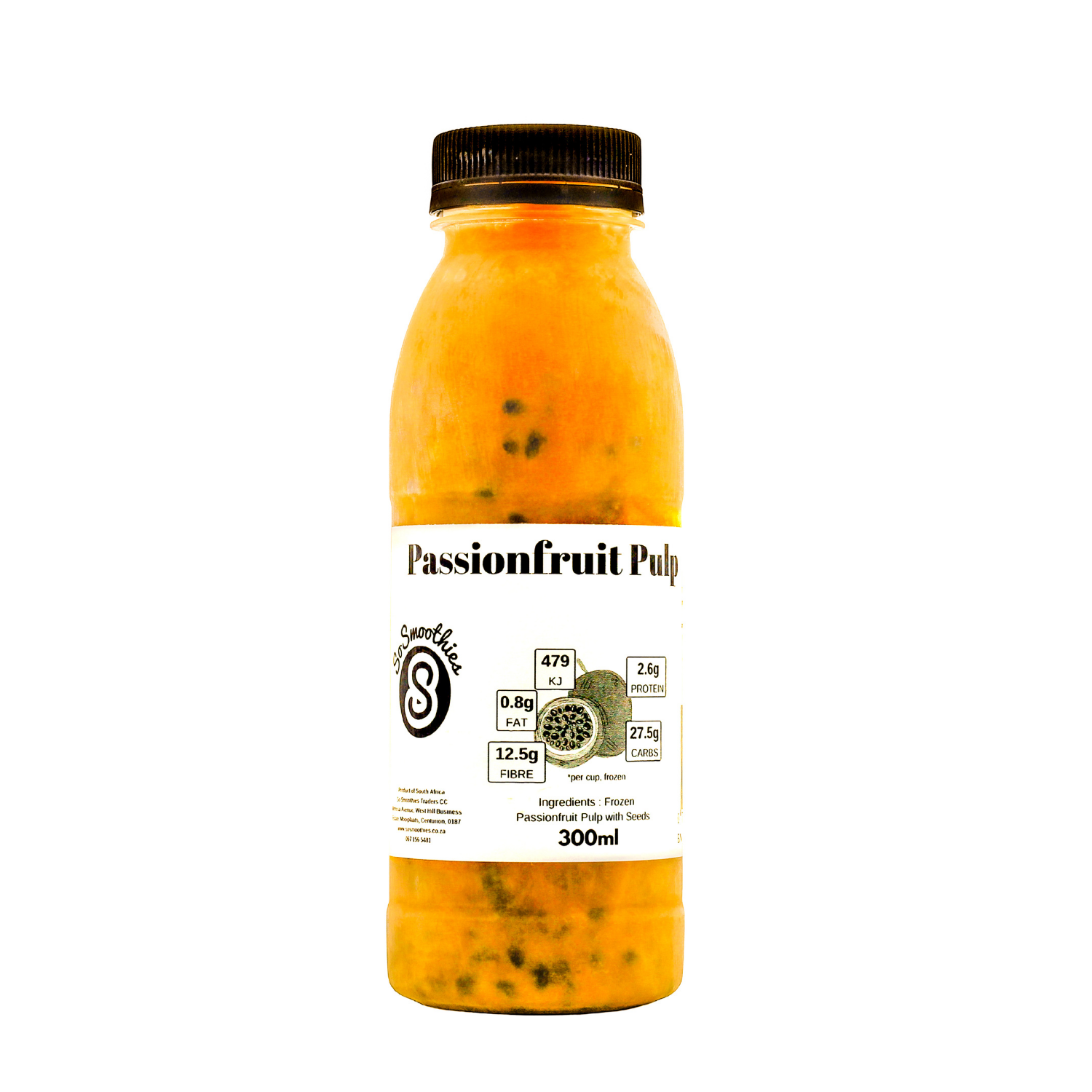 Frozen Passsionfruit Pulp With Seeds