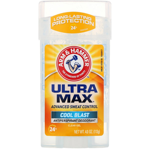 Deodorant gel arm and hammer