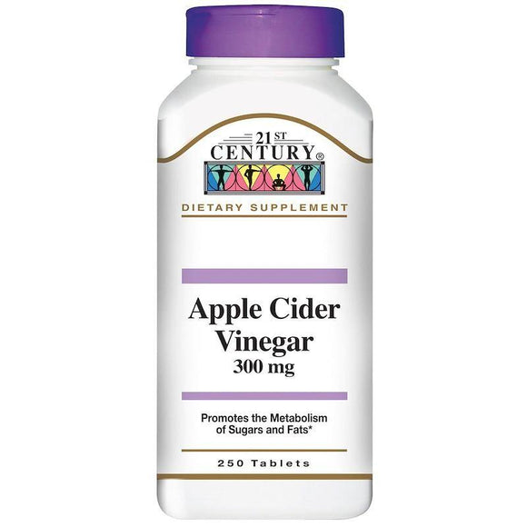 Apple Cider Vinegar has been used as a folk remedy for many years. This natural health tonic supports the metabolism of sugars and fats as well as aids the body in the cleansing of toxins.